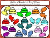 Oodles of Doodles: Winter Hats and Mittens Clip Art