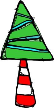 Oodles of Doodles: Winter Holiday Clip Art Sampler Freebie