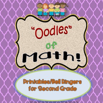 Oodles of Math Bell Ringers/Printables