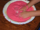 Ooey- Gooey Homemade Gak (chemistry experiment for little hands)
