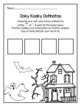 Ooky Kooky Ostinatos