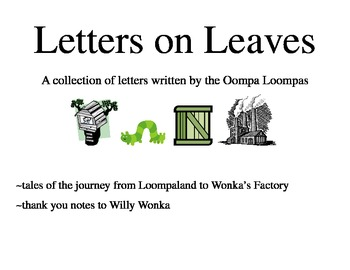 Oompa Loompa Letters (Charlie and the Chocolate Factory)