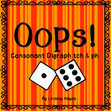 Oops: A Consonant Digraphs tch & ph Game, Reading Street Unit 2, Week 3