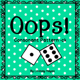 Oops: A Consonant Pattern -ck Game, Reading Street Unit 1, Week 1