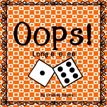 Oops: A Long e: e, ee Game, Reading Street Unit 2, Week 6