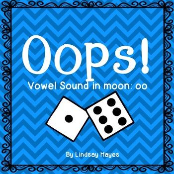 Oops: A Vowel Sound in Moon: oo Game, Reading Street Unit 4, Week 6