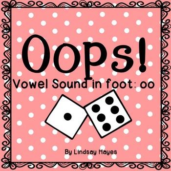 Oops: A Vowel Sound in foot: oo Game, Reading Street Unit 5, Week 3
