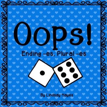 Oops: An Ending -es; Plural -es Game, Reading Street Unit 3, Week 3