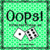 Oops: An Inflected Ending -ed Game, Reading Street Unit 2, Week 5