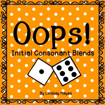 Oops: An Initial Consonant Blends Game, Reading Street Unit 1, Week 5