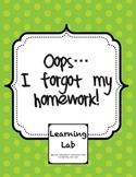 Oops ... I Forgot My Homework