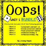 Oops: Reading Street Unit 1 BUNDLE