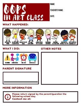 Oops in Art Class