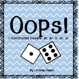Oops!: r-Controlled Vowel Game, Reading Street Unit 3 Review