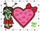 Oowie Gooey Zombie Brains: Valentine's Artic Smash Mats