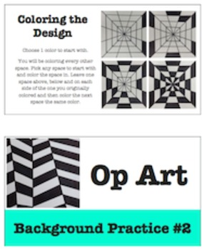 Op Art Background Design Practices