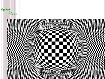Op Art Drawing Lesson