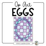 Op Art Eggs