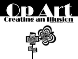 Op Art Lesson Bundle - 5th to 8th Grade