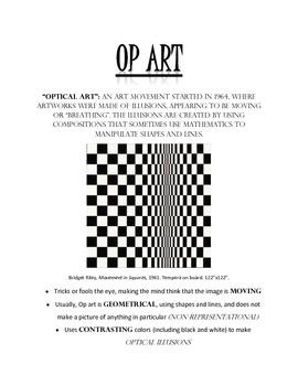 Op Art Overview