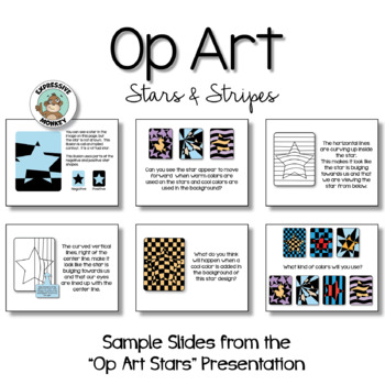 4th of July Activity: Op Art Stars & Stripes
