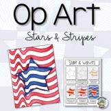Patriotic Activity: Op Art Stars & Stripes