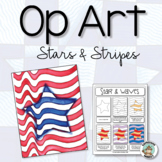 Patriotic Activity: Op Art Stars & Stripes
