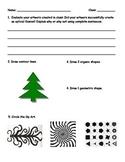 Op Art assessment for 5th grade Op Art lesson