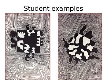 Op Art Line Design Lesson : Op art lesson plan by steam teacher teachers pay