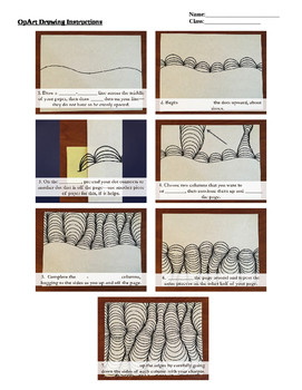 OpArt - Drawing Notes