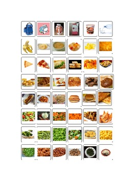 Opciones De La Cafeteria Con Fotos