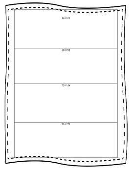 Open Area Model Multiplication 2