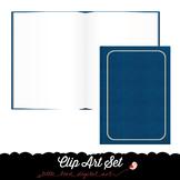 Open Book - Closed Book - Clip Art Set - PNG Files