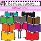 Open Book clip art - Single Image - by Melonheadz