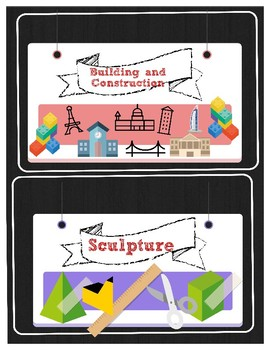 Open Centers signs for the Art Classroom