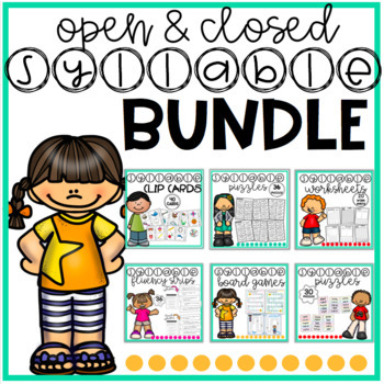 Open & Closed Multisyllabic Words