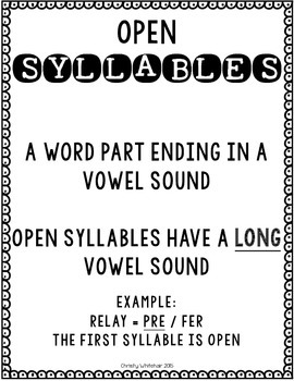 Open & Closed Syllable Decoding for Upper Elementary; RTI