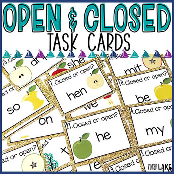 Open & Closed Syllable Activity