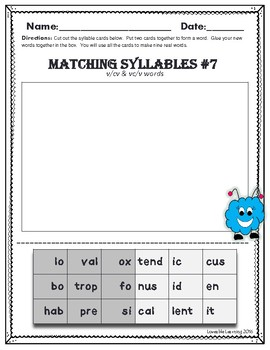 Syllable Types:Open Syllable or Rule breaker? Identify Those Pesky Rule Breakers
