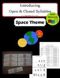 Open & Closed Syllables - Flashcards - Bingo Dauber Worksheets