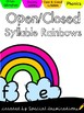 Open & Closed Syllables Literacy Centers for Spring (Orton