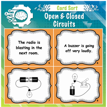 Card Sort: Electrical Circuit (open or closed)