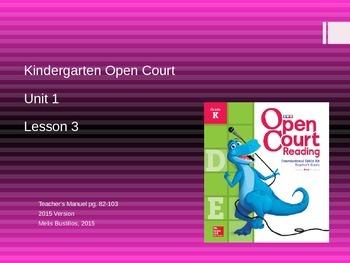 Open Court 2015 Unit 1 Lesson 3