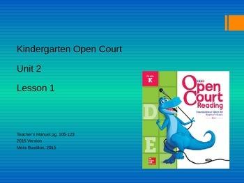 Open Court 2015 Unit 2 Lesson 1