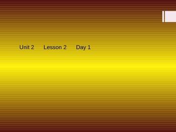 Open Court 2015 Unit 2 Lesson 2
