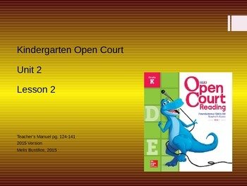 Open Court 2015 Unit 2 Lesson 2