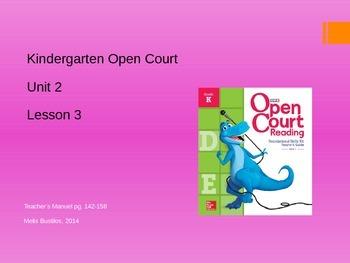 Open Court 2015 Unit 2 Lesson 3