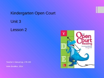 Open Court 2015 Unit 3 Lesson 2