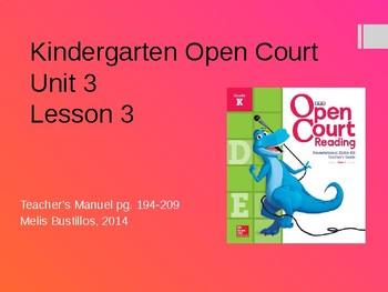 Open Court 2015 Unit 3 Lesson 3