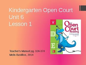 Open Court 2015 Unit 6 Lesson 1